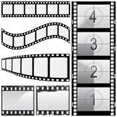 set of film vector