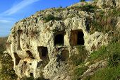 Sicily, Collective Caves