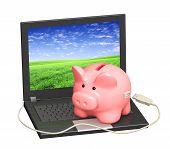 Cuenta de banco electrónico