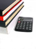 Books And Calculator poster