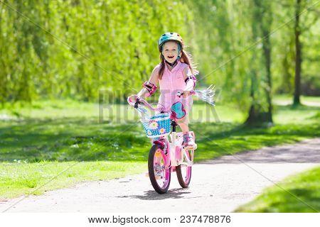 Child On Bike Kids Ride