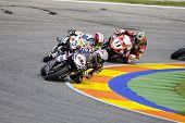 SBK Campeonato del Mundo de Superbikes - Spanish Round - Valencia 2008 en el Circuito Ricardo Tormo de Cheste - Ruben Xaus, Yukio Kagayama, Troy Corser