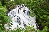 Betws-y-coed Waterfalls In Snowdonia, North Wales