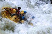 Klasse v rafting 1