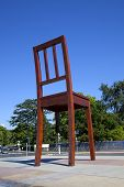 Broken Chair Monument In Geneve