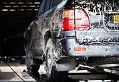auto's in een carwash