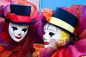 Two Clowns - Close Up
