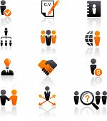 foto of people icon  - collection of human resources icons - JPG