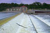Powerhouse And Dam Spillway