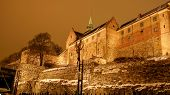 Akershus Festning Defensive Fortress In Oslo, Norway, Scandinavia poster