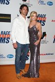 LOS ANGELES - MAY 18: Camille Grammer, Dimitri Charalambopoulos at the 19th Annual Race to Erase MS