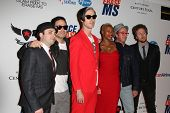 LOS ANGELES - MAY 18: Michael Fitzpatrick, Fitz and the Tantrums at the 19th Annual Race to Erase MS