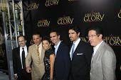 LOS ANGELES - MAY 31:  Dean Wright, M Kuri, Andy Garcia, Eva Longoria, Nestor Carbonell, E Verastequi arriving at the