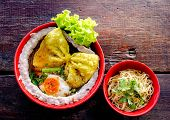 Noodle, Rice Noodle Dishes, Meatballs, Vegetable Sauce, Sweet Taste, Fragrant Local Culture, Asian E poster