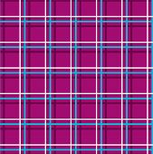 Seamless Checkered Background, Thin Lines, Plum, Vector. White And Blue Thin Lines Intersect At The  poster