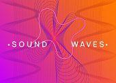 Neon Flyer. Digital Concert Magazine Concept. Dynamic Fluid Shape And Line. Neon Flyer Trance Event. poster