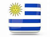 Square Icon Of Uruguay