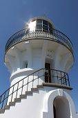 White Lighthouse In Seal Rocks, Australia