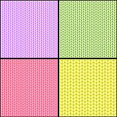 Four Fabric Seamless Textures