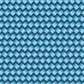 Seamless tiling wicker texture