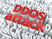 DDOS-Angriff-Konzept.