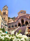 Vista de la costa de Amalfi