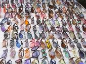 pic of peddlers  - sunglasses galore - JPG