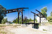 Vincent van Gogh bridge near Arles, Provence, France