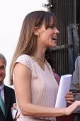 LOS ANGELES - NOV 8:  Hilary Swank at the Mariska Hargitay Hollywood Walk of Fame Star Ceremony at H