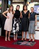LOS ANGELES - NOV 8:  Hilary Swank, Debra Messing, Mariska Hargitay, Maria Bello at the Mariska Hargitay Hollywood Walk of Fame Star Ceremony at Hollywood Blvd on November 8, 2013 in Los Angeles, CA\
