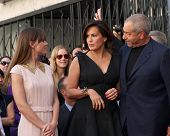 LOS ANGELES - NOV 8:  Mariska Hargitay, Dick Wolf at the Mariska Hargitay Hollywood Walk of Fame Sta