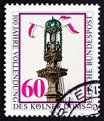 Postage Stamp Germany 1980 Completion Of Cologne Cathedral