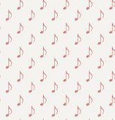 knitted seamless pattern wallpaper of musical notes