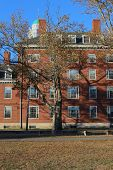Harvard College Dorms In Fall