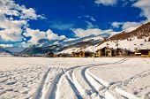 Livigno In Winter Landscape