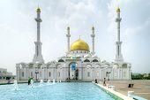 Nur-astana Mosque. Astana