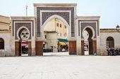 Gate at the ancient medina