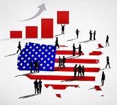 USA Business Rising