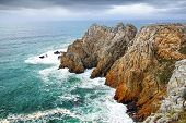 Pointe de Pen-Hir. Crozon peninsula, Brittany