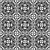 ornate seamless background, vector image