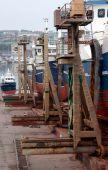 Boats under repair