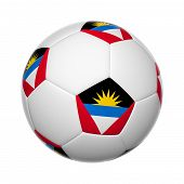 Antigua And Barbuda Soccer Ball