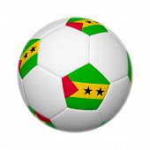 Sao Tome And Principe Soccer Ball
