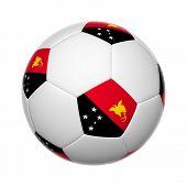 Papua New Guinea Soccer Ball