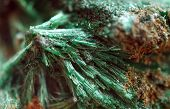 picture of malachite  - Malachite with the formula Cu2CO3 - JPG