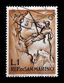 San Marino stamp 1962