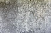 Dark Gray Concrete Weathered Wall Background poster