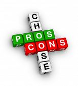 pros and cons compare crossword puzzle