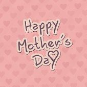 Happy Mothers's Day Card Background