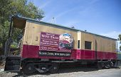Napa Valley Railroad wine train in Yountville